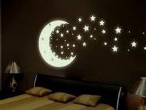 Флуоресцентные обои: ночь в вашей комнате