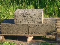 Арболитовые блоки стандартного размера