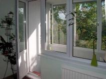 балконная дверь из металлопластика