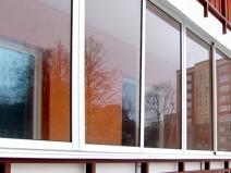Раздвижные балконные рамы из пвх