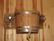Устройство для обливания в бане-бочке