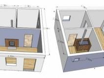 Примеры разработок для бани из блоков