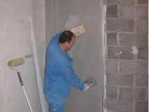 штукатурка стен цементно-песчаной смесью