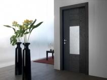 деревянные двери венге в интерьере