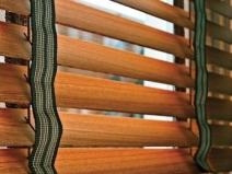 деревянные шторы-жалюзи