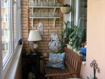 Дизайн балкона в квартире