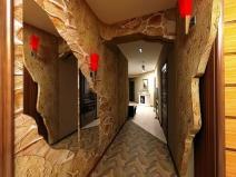 Дизайн коридора в стиле модерн