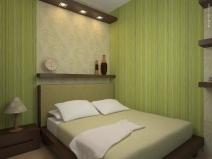 Уютная маленькая спальня, фото