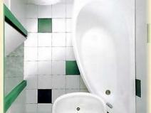 Удачная планировка в маленькой ванной