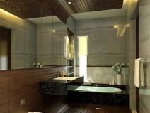 Дизайн маленькой ванной: используем зеркало