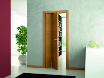 Глухая конструкция двери-книжки