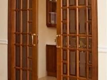 Двери купе с фальш стеной