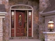 красивые двери в частный дом