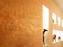 фактурная штукатурка в стиле сафари
