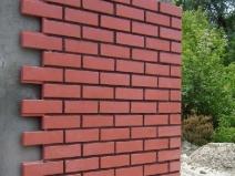фасадная плитка под красный кирпич