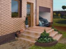 фасадная плитка на частном доме