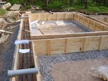 Фундамент для коттеджного дома