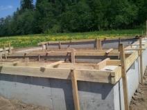 строительство фундамента для гаража