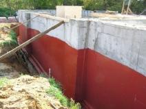 гидроизоляция фундамента снаружи