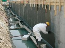 обмазочная гидроизоляция фундамента