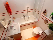 Ванная комната 4 кв метра