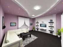 Дизайн зала неправильной формы
