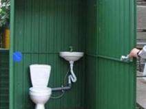 Туалет с рукомойником на даче: интерьер