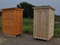 Строительство уличного сельского туалета