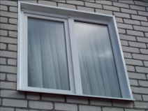 Наружные откосы на окне