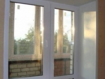 откосы: окно и балкон