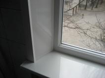 откосы для окна и подоконник
