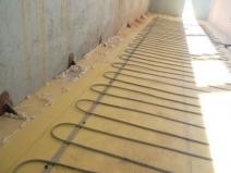 Балконный пол с подогревом