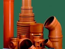трубы и фитинги пвх для канализации