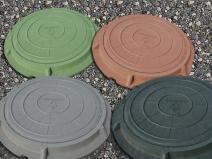 пластиковые крышки для канализационного люка
