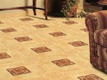 керамогранитная плитка в гостиной