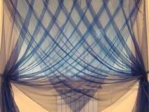 красивые прозрачные шторы из органзы