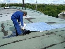 гидроизоляция крыши гаража