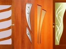 дизайн ламинированных дверей