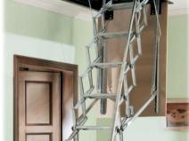 Раздвижная металическая лестница