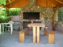 Строим летнюю кухню с печью барбекю на даче