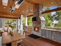 Летняя кухня: прекрасный дизайн!