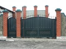 железные калитки и ворота