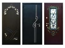 красивые металлические двери