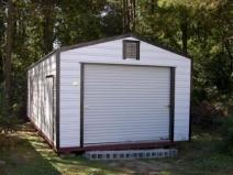 Отделка металлического гаража