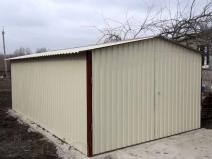 Металлический гараж по минимальной цене