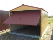 сборный гараж и профнастила