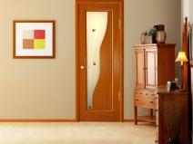 оригинальные межкомнатные двери из массива сосны