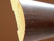 деревянный наличник в разрезе