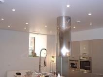 Простейший навесной потолок с подсветкой