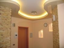 Навесные потолки с подсветкой фото